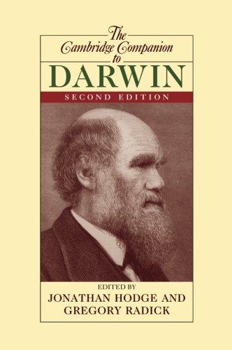 The Cambridge Companion to Darwin (Cambridge Companions to Philosophy)