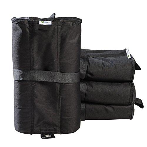 SORARA Zelt Gewicht Taschen für Partyzelt Garten Zelt Festzelt Pavillon Packung mit 4 Stück
