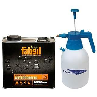 Grangers Fabsil 2.5 Litre Waterproofer 2.5L + 2 Litre Pressure Sprayer 2L