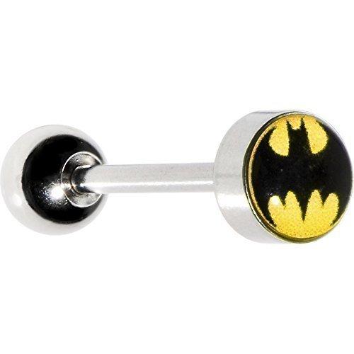 Piercing lingua barbell batman con licenza