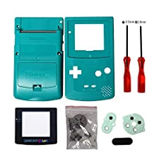 Timorn Sostituzione Case Cover Shell alloggiamento pieno per GBC Gameboy Color