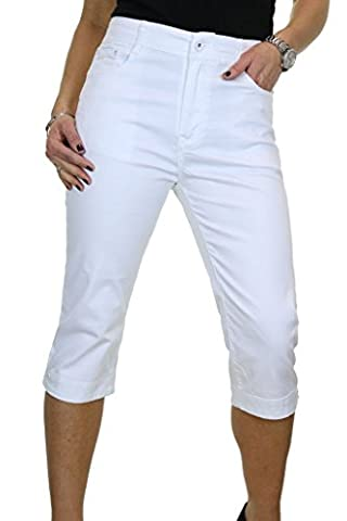 ICE Jeans Extensible, Jambe Croisée Capri, avec Détail Diamant Blanc 42 à 52 (46)