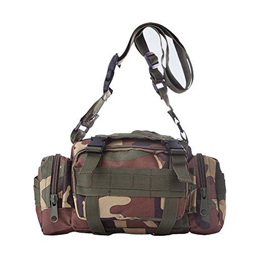 ELEAR® Utility Tactical Bag Marsupio Outdoor Borsa a tracolla Zaino tattici militari Sport all'aperto Campeggio Escursioni fango Cachi