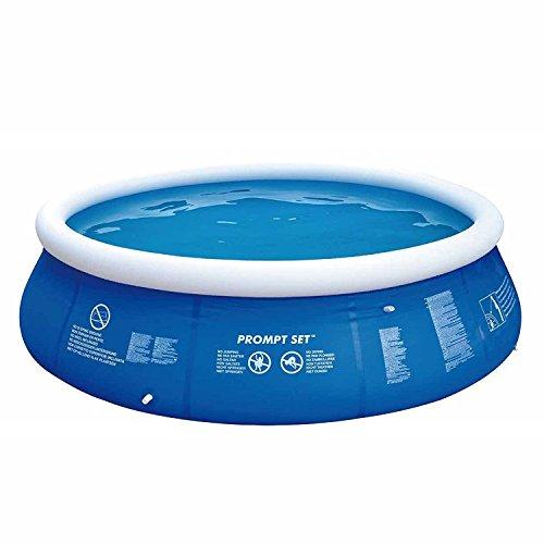 Jilong Marin Blue Rundpool Set Ø 360×84 cm mit Becken Pumpe Filter-Kartusche, Quick-Up Swimming Pool Fast-Set Kinder und Familien Schwimmbecken Schwimmbad für Garten und Terasse - 5
