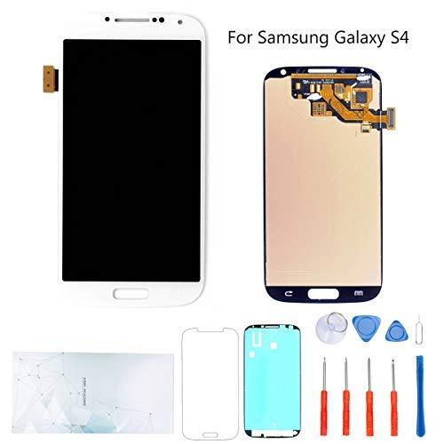 kosuroum Ersatz-Display für Samsung Galaxy S4i9500i9505i337M919LCD Display Glas Touch Digitizer Tools (Weiß)