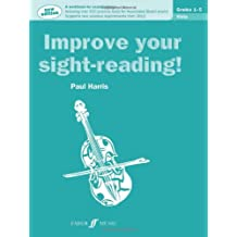 Improve Your Sight-reading! Viola, Grades 1-5: A Workbook for Examinations