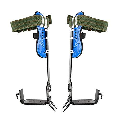 Binwe 2 Gänge Baumklettern Spike Set Hand Ascender Klettern Baumpfleger Abseilen Ausrüstung Seilklemme