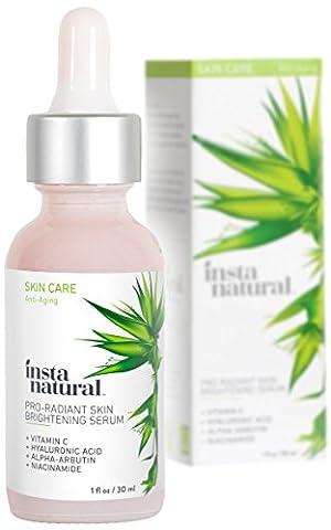 Sérum Éclaircissant à la Vitamine C d'InstaNatural - Anti-Rides, Ridules,