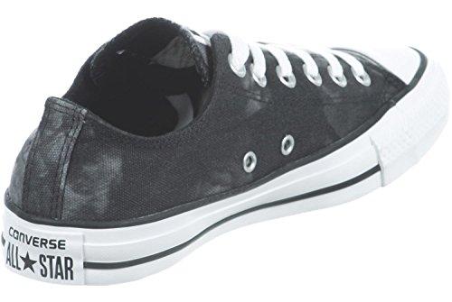 Converse Ct Coat Wash Ox, Damen Sneakers schwarz/weiß