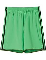 adidas adultos Team Pantalones Cortos Condi 16, Solar Lime S16/RAW Lime S16/Negro, 3x l, ai6387