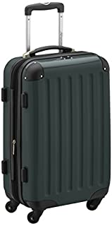 HAUPTSTADTKOFFER - Alex - Carry on luggage On-Board Suitcase Bag Hardside Spinner Trolley 4 Wheel Expandable, 55cm, dark green (B005GUI3VM) | Amazon price tracker / tracking, Amazon price history charts, Amazon price watches, Amazon price drop alerts