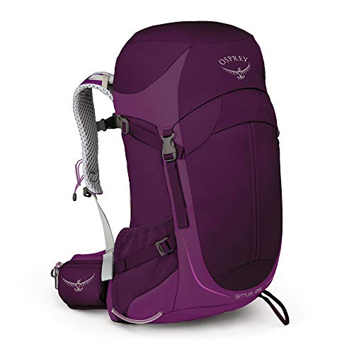 Osprey Sirrus 26 belüfteter Wanderrucksack für Frauen - Ruska Purple (O/S)