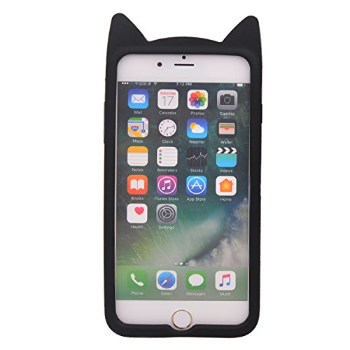 """iPhone 7 Plus (5.5"""") Hülle,COOLKE 3D Fashion Klassische Karikatur weiche Silikon Shell Schutzhülle Hülle case cover für Apple iPhone 7 Plus (5.5"""") - 008 013"""