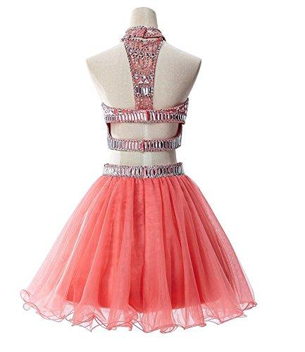 Bridal_Mall -  Vestito  - linea ad a - Senza maniche  - Donna Koralle