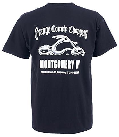 OCC Orange County Choppers T-Shirt Montgomery Arc Logo Tee schwarz-L