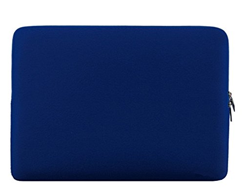 17 Zoll Basics Schutzhülle Handtasche Schulter Tasche Notebooktasche Laptop Sleeve Laptop Hülle für Tablets Blau