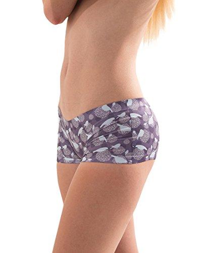 Croota Damen Seamless Panties Unterhosen - Comfort AK01-PURPLE