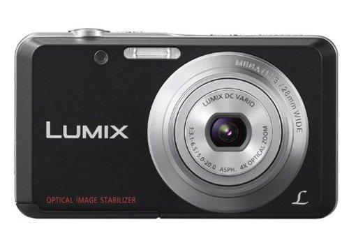 Panasonic Lumix DMC-FH4 14.1MP Point and Shoot Camera (Black)
