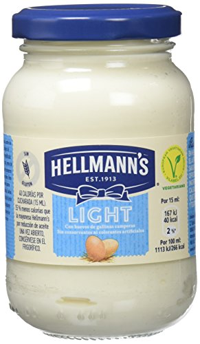 Hellmann'S Mayonesa Light - Paquete de 12 x 225 ml: Total: 2700 ml