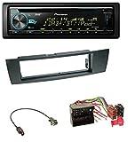 caraudio24 Pioneer DEH-X7800DAB DAB MP3 CD USB Bluetooth Autoradio für BMW 1er E87 3er E90-3 X1 E84 Z4 E89