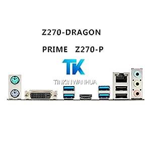 PRIME Z270 DRAGON ORIGINAL ASUS IO SHIELD for ASUS  PRIME Z270-P NEW