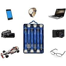Set portátil de 6 destornilladores de precisión para reparar dispositivos relojes