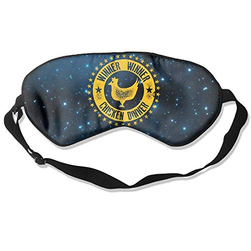 WINNER WINNER CHICKEN DINNER Natural Silk Sleep Mask -