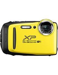 """Fujifilm 16573401 - Cámara acuática de 3"""" (Wi-Fi, estabilizador óptico, video Full HD, Bluetooth, 16.4 MP) color amarillo"""