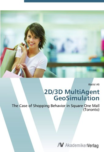 2D/3D MultiAgent GeoSimulation: The Case of Shopping Behavior in Square One Mall (Toronto)