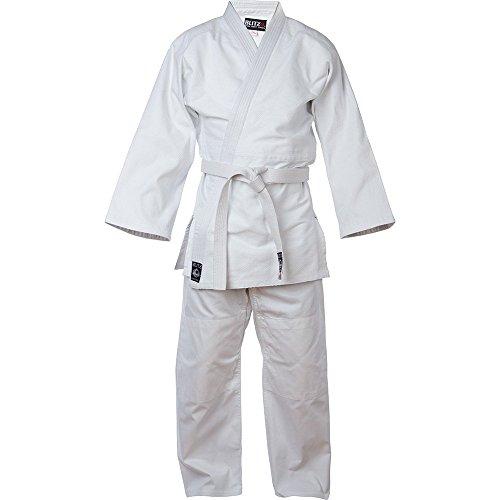 Blitz Sports Baumwolle Erwachsenen Judo Anzug - weiß 160cm