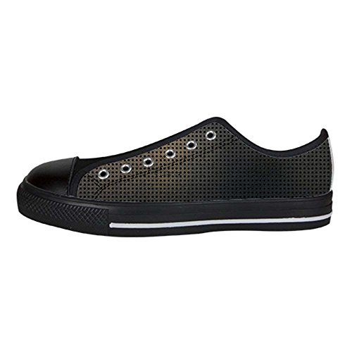 Dalliy Metal Men's Canvas shoes Schuhe Lace-up High-top Sneakers Segeltuchschuhe Leinwand-Schuh-Turnschuhe C