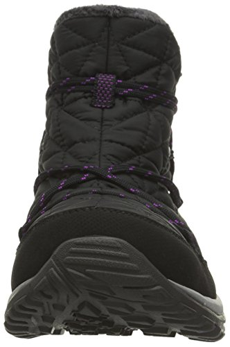 Columbia Loveland Shorty Omni-Heat, Stivali da Neve Donna Nero (Black/ Bright Plum)