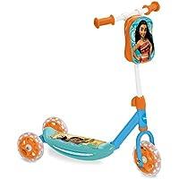 Vaiana-MD-18474 Patinete,, Talla Ajustable (Mondo Toys MD-18474)