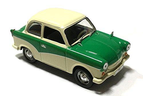 Atlas 1959 Trabant P50 7507002, Grün / Weiß, 1:43 Die Cast