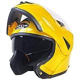 Motociclo Casco Doppio Obiettivo esporre antiappannante Casco Cavaliere Protezione equipaggiamento Motocross Casco Adulto