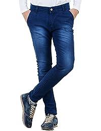 Dee Cee Dark Blue Slim Fit Jeans For Men's