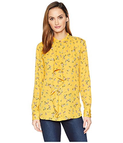 Tahari ASL Womens Lace Button from A-Line Dress Illusion Detail