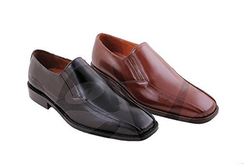 Marttely Design - 9972 - Zapato Caballero Piel - 46, Marrón