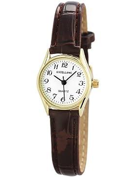Excellanc Damen-Armbanduhr XS Analog Quarz verschiedene Materialien 190007000030