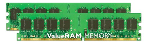 kingston KVR667D2N5K2/4G Arbeitsspeicher 4GB (667MHz, 240-polig, CL5, 2x 2GB) DDR2-RAM Kit