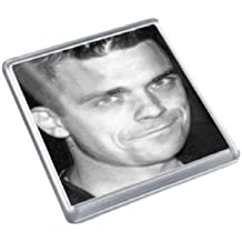 ROBBIE WILLIAMS - Original Art Coaster #js003