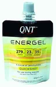 QNT Energel 75 ml Lemon Energy Gel Shots - Box of 12