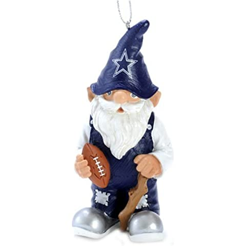 Dallas Cowboys NFL Gnome Estatuilla Christmas Ornament Adornos de Navidad
