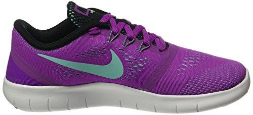 Nike Free RN (GS), Chaussures de Sport Fille Violet (Hyper Violet/Hypr Trq/Blck/Wht)