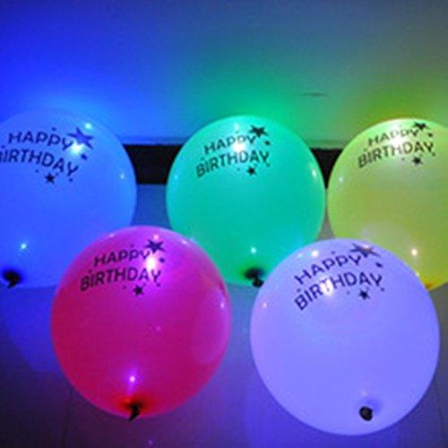 ShopAParty - LED Happy Birthday Balloons
