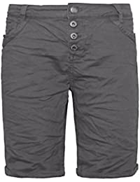 Urban Surface Damen Bermuda Shorts | Bequeme kurze Stoffhose aus Stretch-Twill - Loose Fit