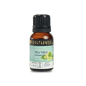 Soulflower essential oil Tea Tree Nett vol 15ml