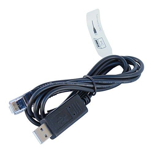 Preisvergleich Produktbild RJ45-USB-zu-USB-Kabel Connect einer Solar Charge Controller auf einem PC / Computer (1, 5 m Länge)