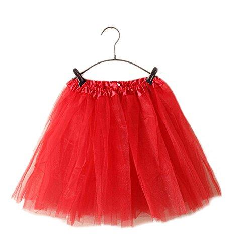 GGTFA Erwachsenen Ballett Kleid Tüll Tutu Petticoat Dance Rock (Kleider Für Tutu Erwachsene)