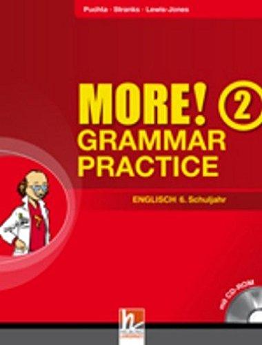 MORE! Grammar Practice 2, mit CD-ROM: Schulbuchnummer 146.077 bungsbuch fr die 6. Schulstufe / Jahrgangsstufe